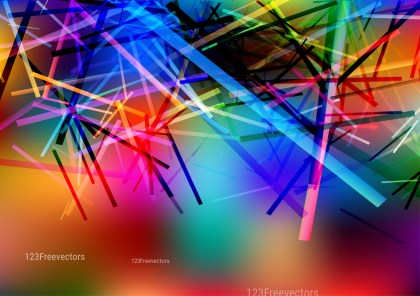 Colorful Geometric Irregular Lines Background