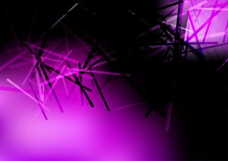 Purple and Black Dynamic Irregular Lines Background