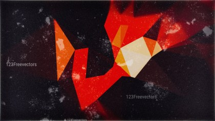 Black Red and Orange Grunge Background