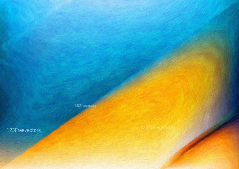 Blue and Orange Textured Background