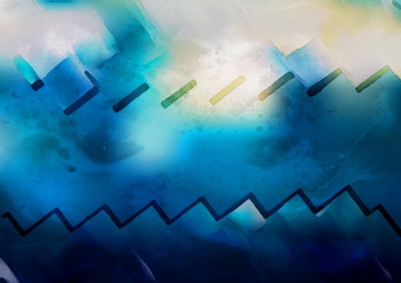 Blue Grey and Black Grunge Background