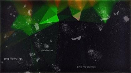 Green Orange and Black Textured Background Image