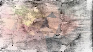 Grey Pink and Yellow Grunge Background