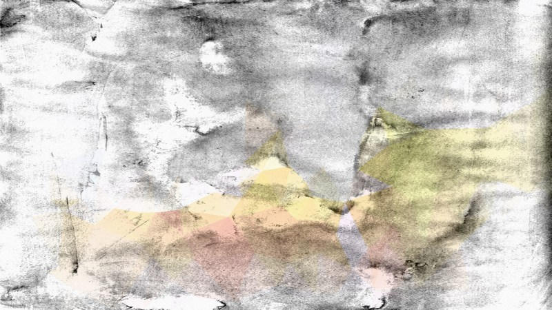 Grey Pink and Yellow Grunge Background Image