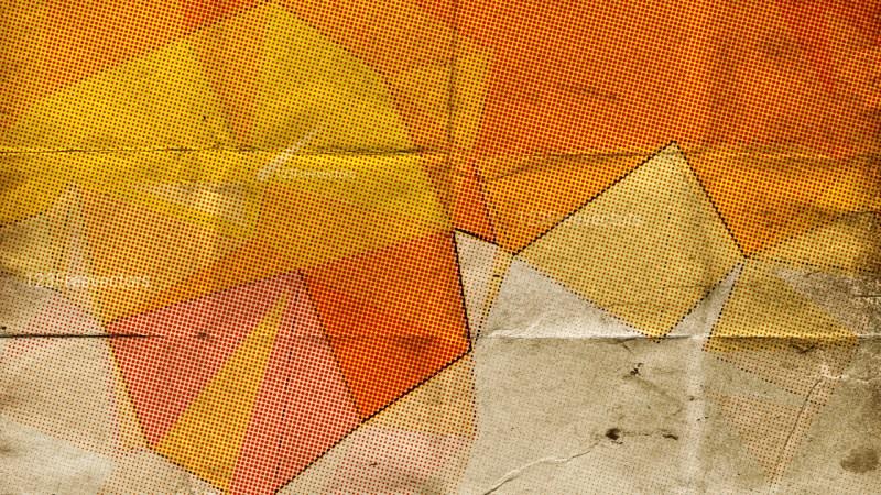 Orange and Beige Texture Background