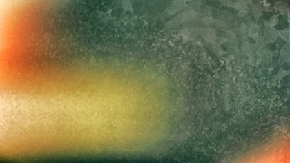Orange and Green Dirty Grunge Texture Background Image