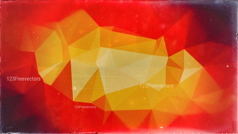 Red and Orange Grunge Background Texture