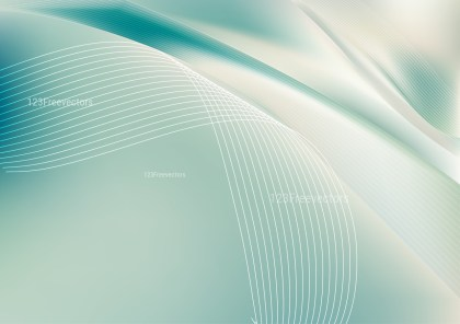 Shiny Abstract Beige and Turquoise Background
