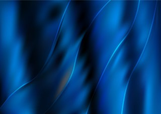 Shiny Abstract Black and Blue Background Vector Illustration