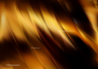 Abstract Shiny Black and Brown Background Illustrator