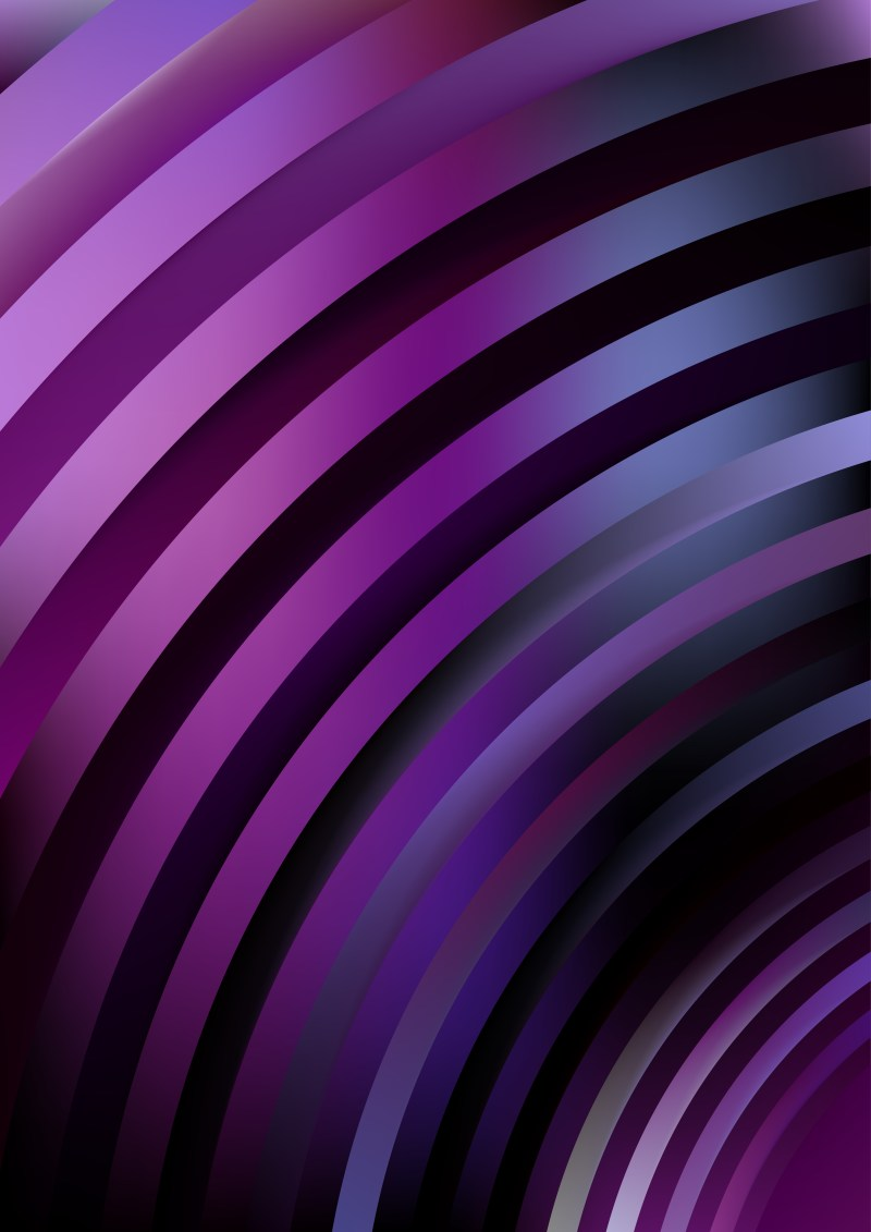 Abstract Black Blue and Purple Background Vector Illustration