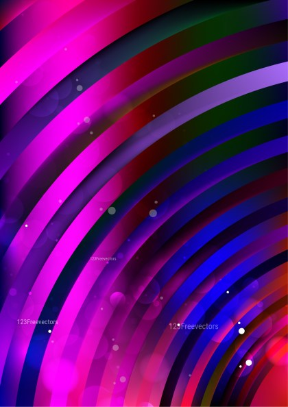 Abstract Shiny Black Pink and Blue Background Vector Art