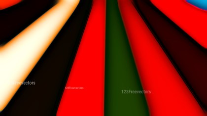 Black Red and Green Abstract Background