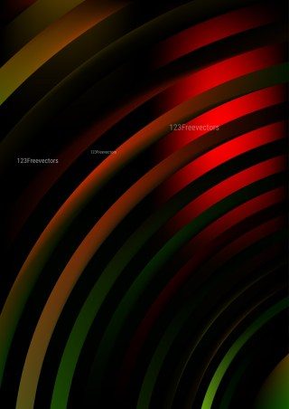 Abstract Black Red and Green Graphic Background