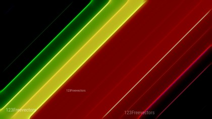 Abstract Shiny Black Red and Green Background