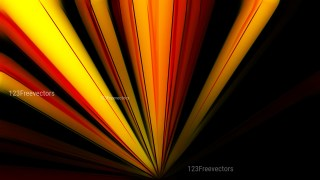 Abstract Black Red and Yellow Graphic Rays Background