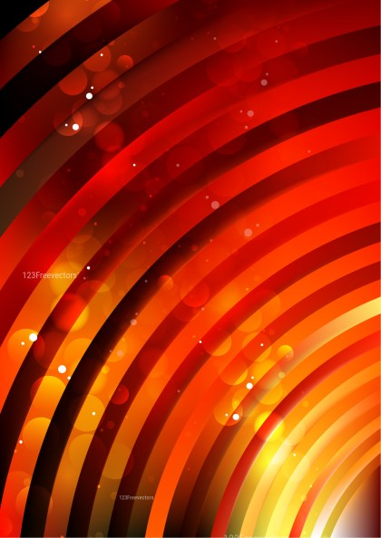 Shiny Abstract Black Red and Yellow Background