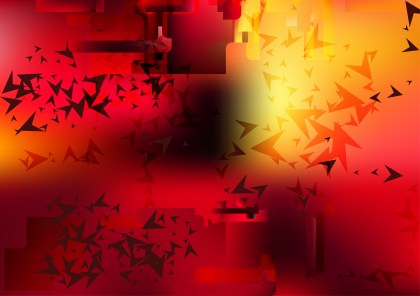 Abstract Black Red and Yellow Graphic Background