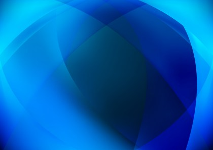 Shiny Abstract Blue Background