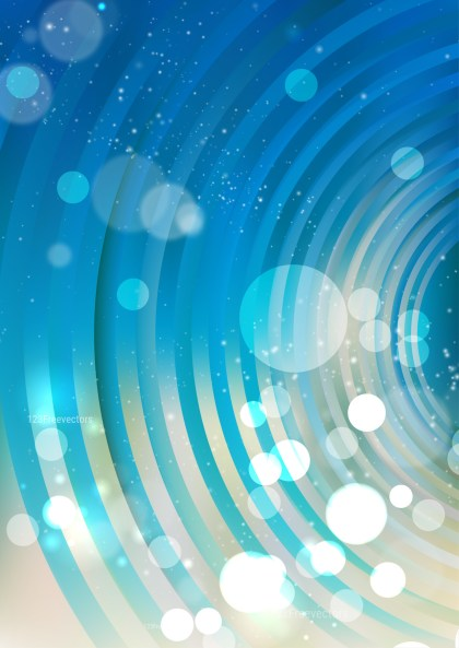Abstract Blue and Beige Graphic Background