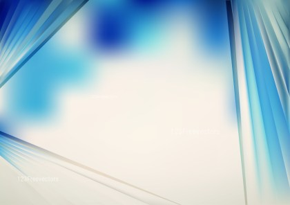 Abstract Shiny Blue and Beige Background