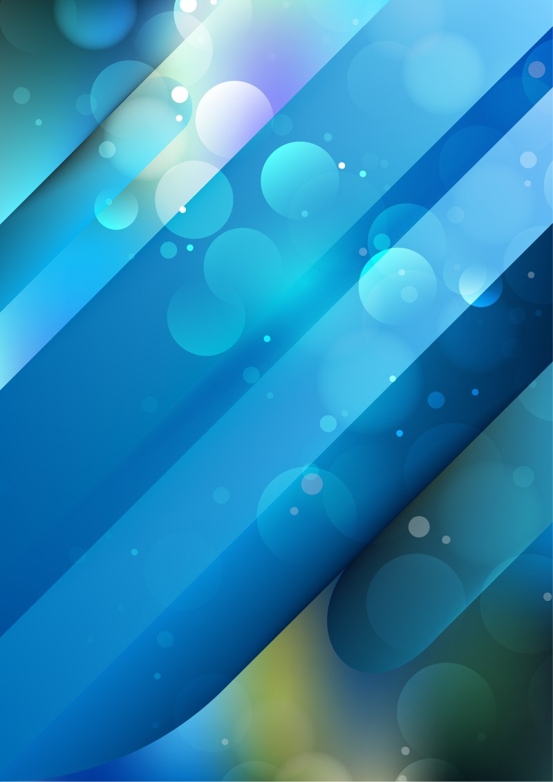 Shiny Abstract Blue and Green Background Vector Illustration