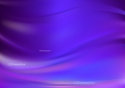 Shiny Abstract Blue and Purple Background