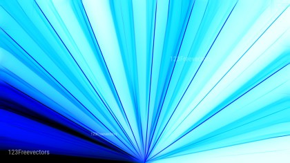 Blue and White Abstract Rays Background Graphic