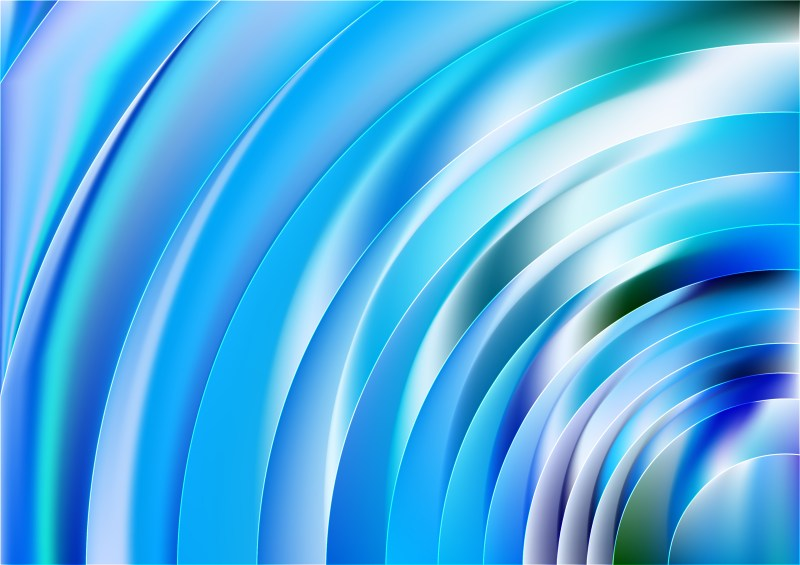 Abstract Blue and White Background Vector Art