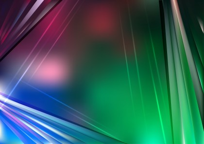 Abstract Blue Pink and Green Background Vector Graphic