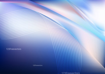Abstract Blue Purple and White Background Vector Image