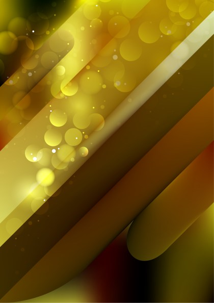 Abstract Shiny Brown and Gold Background