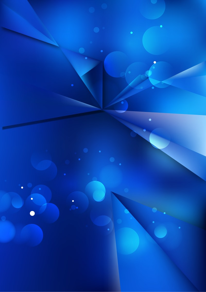 Abstract Cobalt Blue Background