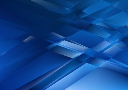 Abstract Shiny Cobalt Blue Background