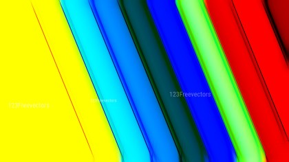 Abstract Colorful Graphic Stripes Background