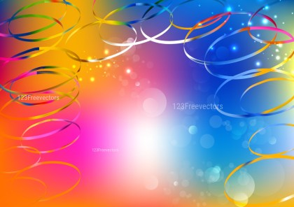 Shiny Abstract Colorful Background