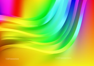 Abstract Shiny Colorful Background Design
