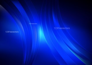 Abstract Cool Blue Graphic Background