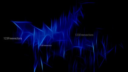 Shiny Abstract Cool Blue Background