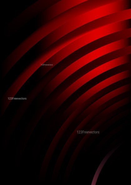 Shiny Abstract Cool Red Background