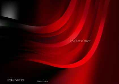 Abstract Shiny Cool Red Background
