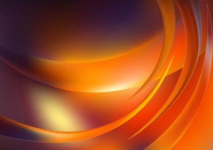 Shiny Abstract Dark Orange Background Vector Image