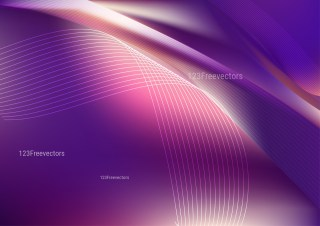Shiny Abstract Dark Purple Background Vector Illustration