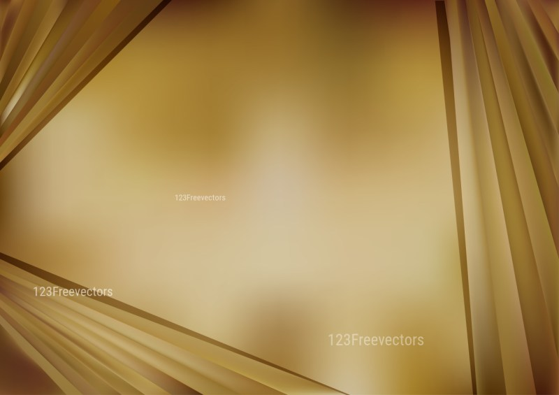Shiny Abstract Gold Background Vector