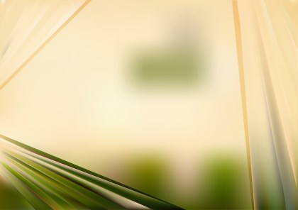 Abstract Green and Beige Background Vector