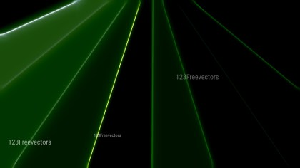 Shiny Abstract Green and Black Background Image