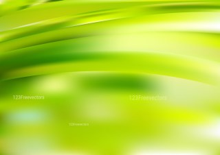 Abstract Shiny Green and Yellow Background Design