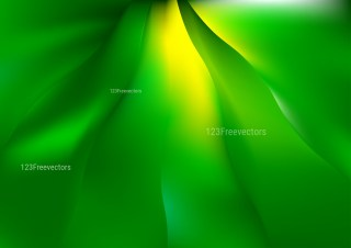 Shiny Abstract Green and Yellow Background