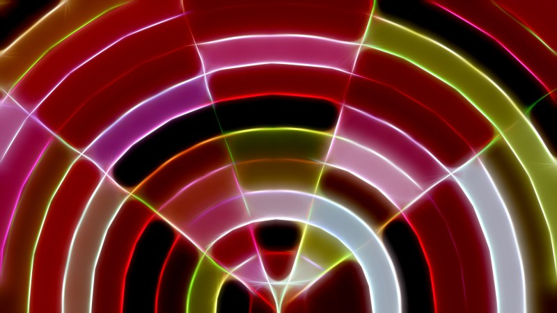 Shiny Abstract Green Red and Purple Background