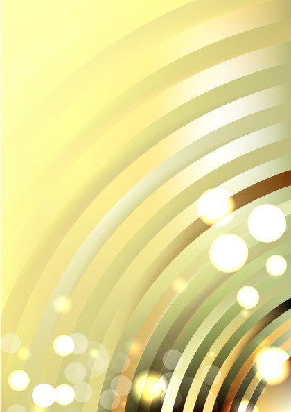 Shiny Abstract Light Yellow Background